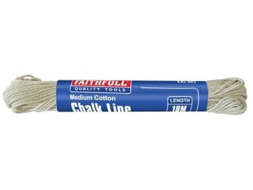 303 Medium Cotton Chalk Line 18m (Box 12)